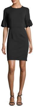 Donna Morgan Lantern-Sleeve Sheath Dress