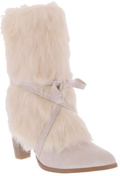 Penny Loves Kenny Women's Aper Fur Bow Tied Boot