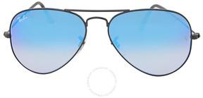 Ray-Ban Aviator Blue Gradient Mirror Sunglasses RB3025 002/4O