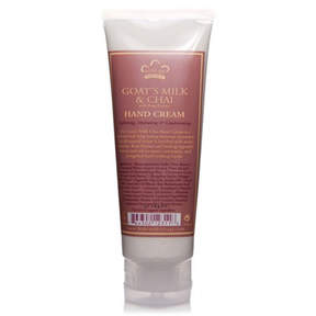 Nubian Heritage Hand Cream, Goat's Milk + Chai by 4oz Cream)