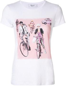 Blugirl bike print T-shirt