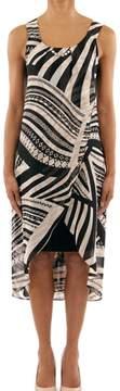 Joseph Ribkoff Sleeveless Print Dress