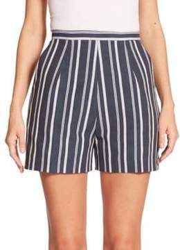 Stella Jean Lupo Striped Shorts