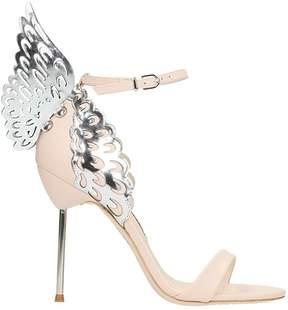 Sophia Webster Nude Calf Leather Evangeline Sandals