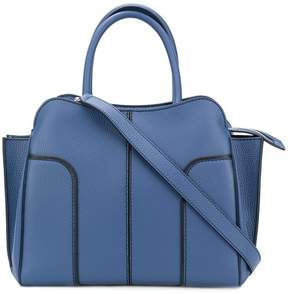 Tod's contrast trim tote
