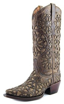 Very Volatile Viceroy Women Pointed Toe Leather Western Boot.