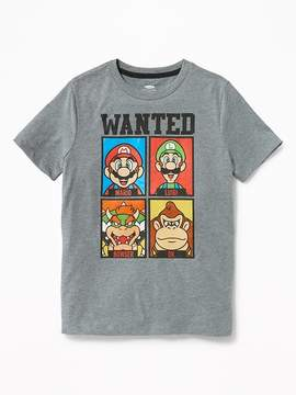 Old Navy Super Mario Wanted Tee for Boys