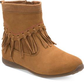 Stride Rite Viola Fringed Boots, Toddler & Little Girls (4.5-3)