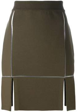 Courreges straight skirt