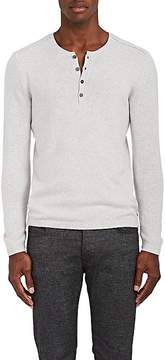 John Varvatos Men's Wool-Blend Henley Sweater