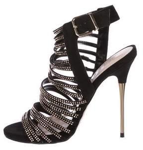 Carvela Embellished Multi-strap Sandals