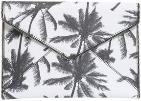 Rebecca Minkoff Palm Tree Leo Clutch - BIANCO - STYLE