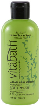 Vitabath Green Tea and Sage Body Wash