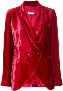 Alberto Biani high shine blazer