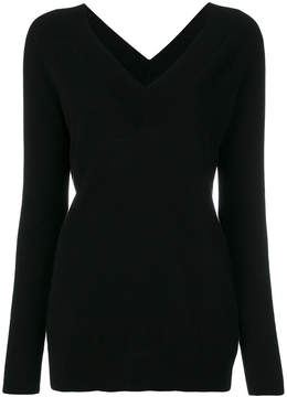 Equipment cashmere knitted top