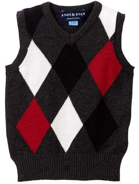 Andy & Evan Argyle Sweater Vest (Baby Boys)