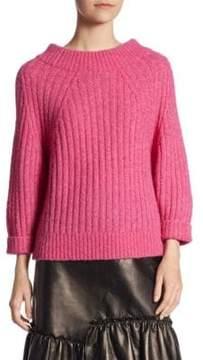 3.1 Phillip Lim Quarter-Sleeve Ribbed Sweater