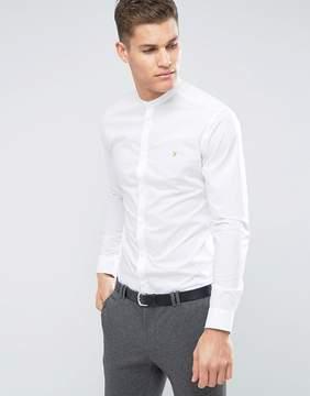 Farah Slim Smart Grandad Shirt