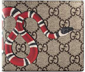 Kingsnake print GG Supreme coin wallet