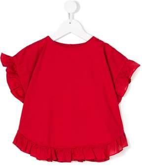 Il Gufo ruffled blouse