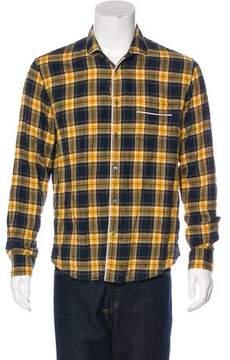 Gucci 2016 Plaid Flannel Shirt