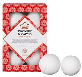 Nubian Heritage Coconut & Papaya Bath Bombs 6 ct