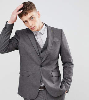 Farah Smart Skinny Houndstooth Suit Jacket