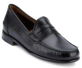 G.H. Bass Walden Leather Penny Loafers