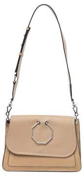 Louise et Cie Amelya Leather & Suede Shoulder Bag
