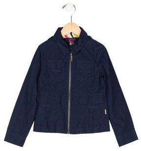 Paul Smith Girls' Zip-Up Lightweight Jacket w/ Tags