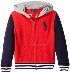 Polo Ralph Lauren Cotton French Terry Jacket Boy's Coat