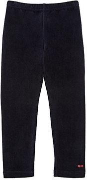 Sonia Rykiel Cotton-Blend Velour Leggings