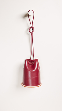 Building Block Disc Bucket Bag