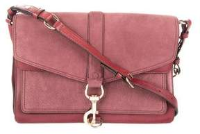 Rebecca Minkoff Hudson Moto Crossbody Bag - BURGUNDY - STYLE