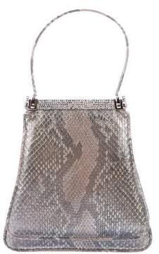 Judith Leiber Embellished Handle Bag
