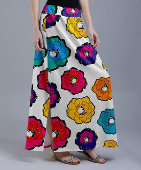 Lily White Floral Maxi Skirt - Women & Plus