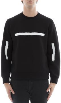 Neil Barrett Black Viscose Sweater