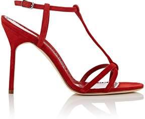 Manolo Blahnik Women's Vitanopla Satin Sandals