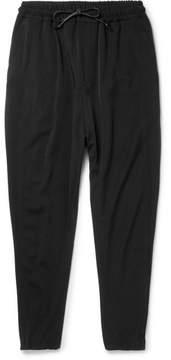 Isabel Benenato Virgin Wool-Twill Drawstring Trousers