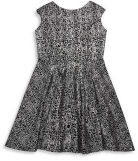 Un Deux Trois Girl's Flare Dress