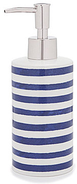 kate spade new york Charlotte Street Striped Lotion Dispenser