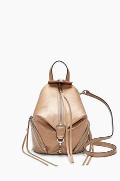 Rebecca Minkoff | Convertible Mini Julian Backpack - NATURAL - STYLE