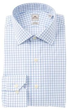 Peter Millar Check Trim Fit Dress Shirt