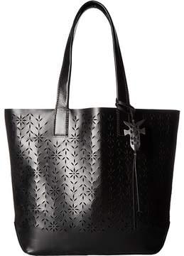 Frye Carson Floral Perf Tote Tote Handbags