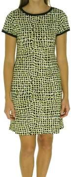 Calvin Klein Women's Printed Jersey Shift Dress
