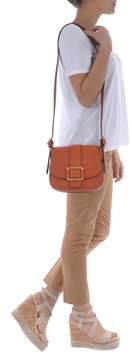 Michael Kors Maxine Saddle Shoulder Bag - ARANCIO - STYLE