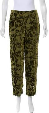 BLK DNM Textured High-Rise Pants