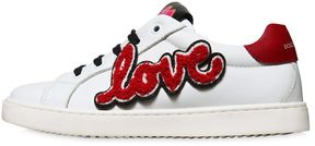 Dolce & Gabbana Love Nappa Leather Sneakers
