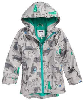 Joules Toddler Boy's Fleece Lined Rain Jacket