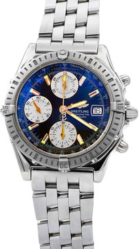 Breitling Pre-Owned 36mm Chronograph Bracelet Watch